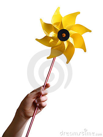 Free Yellow Windmill Stock Photo - 2024900