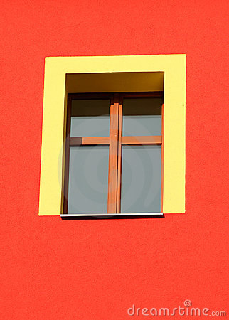 Free Yellow Window Stock Photography - 1533622