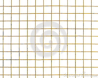 Yellow wire mesh