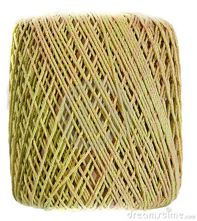 Yellow Yarn spool