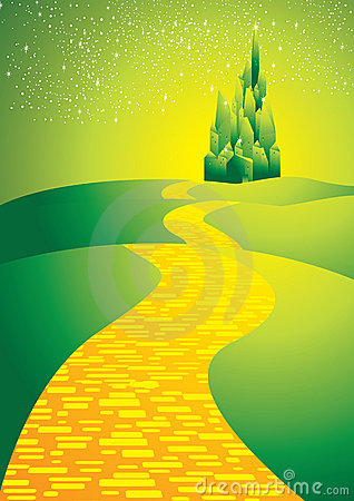 Free Yellowbrickroad Royalty Free Stock Photography - 22039827