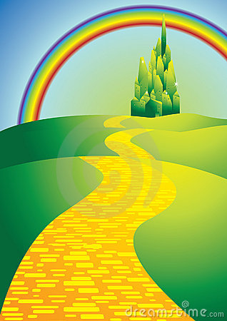 Free Yellowbrickroad Stock Photos - 22039843