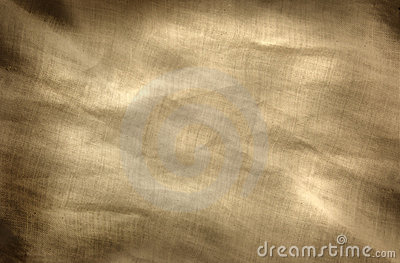 Yellowed Fabric Background
