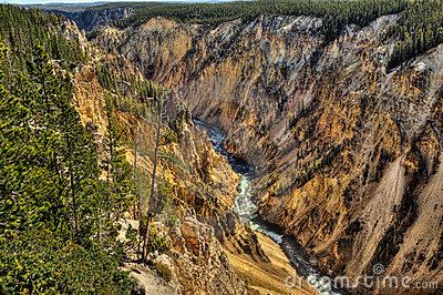 Yellowstone Canyon, Yellowstone NP