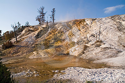 Yellowstone, Mammoth hot springs Terraces