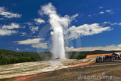 Yellowstone National Park Editorial Photography