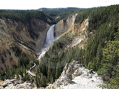 Yellowstone National Park - Lower Falls