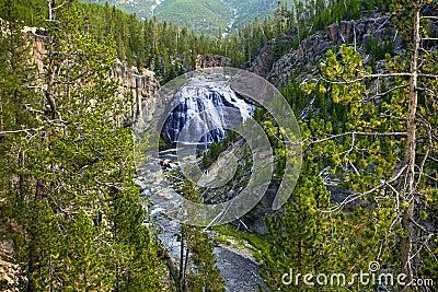 Yellowstone water fall