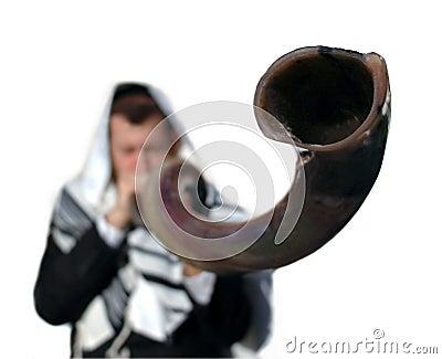 Yemenite shofar