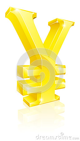 Yen currency sign