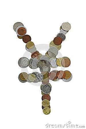 Yen sign