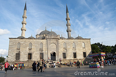 Yeni or New Mosque, Istanbul Editorial Photography