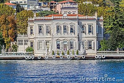 Yenikoy Istanbul coastal Editorial Photography