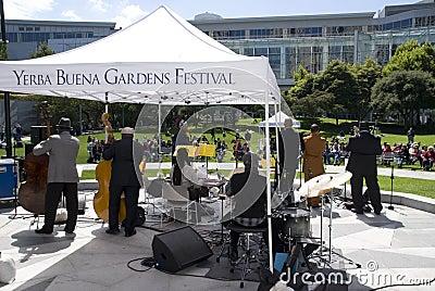 Yerba Buena Gardens Festival Editorial Image