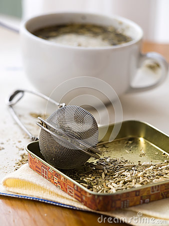 Free Yerba Mate And Morning Magazine Stock Images - 27762104