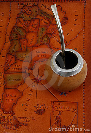Yerba mate on map