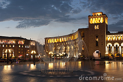 Yerevan, Republic Square, Armenia