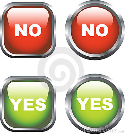Yes / No Icons