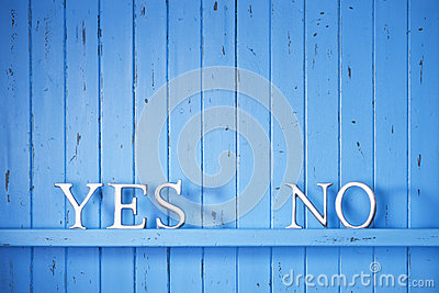 Yes No Choice  Business Background