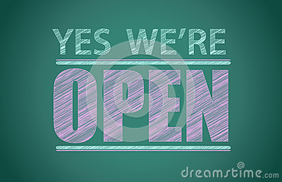 Yes we re open