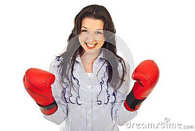 Yes !Winner business woman