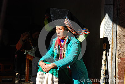 Yi  people in Southwest  China Editorial Photo