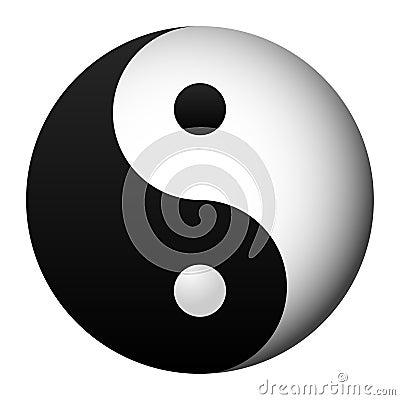 Free Yin And Yang Stock Photo - 9455460