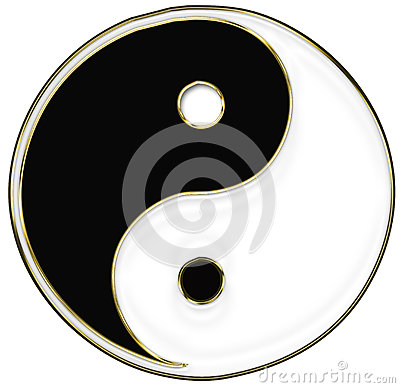 Yin und Yang-Symbol