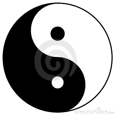 Free Yin Yang Stock Photography - 7106242