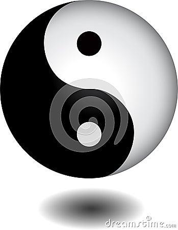Yin yang sphere