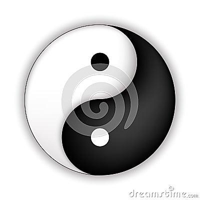 Free Yin Yang Symbol Royalty Free Stock Photography - 42711337