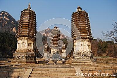 Yinshan pagodas