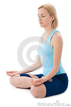 Free Yoga Royalty Free Stock Photo - 13915865