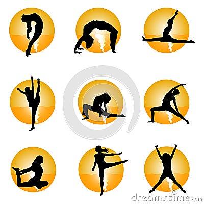 Free Yoga Royalty Free Stock Images - 14088049