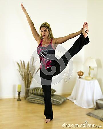 Yoga Advanced Balance Pose