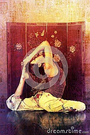 Yoga Asian