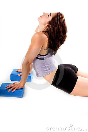 yoga blocks stock photos  image 328563