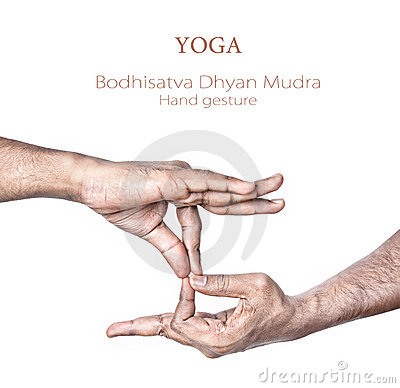 Free Yoga Bodhisattva Dhyan Mudra Stock Photos - 22769073