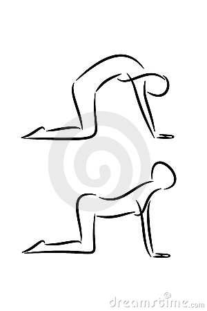 Yoga Cat Stock Illustrations – 220 Yoga Cat Stock Illustrations ...