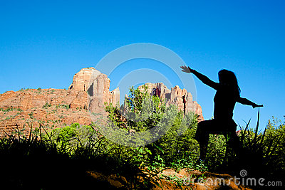Yoga at Cathedral Rock