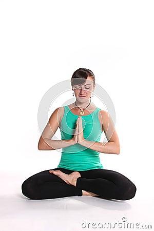 yogacrossedlegs stock photo  image 57637496