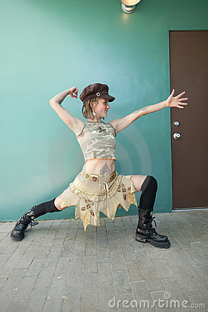 Yoga Dancer Warrior