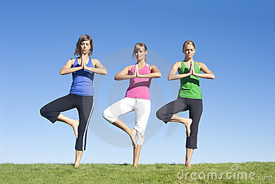 Yoga and Exercise Women