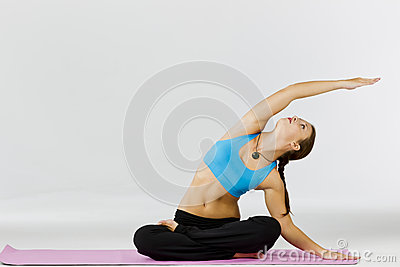 Yoga Fitness Model