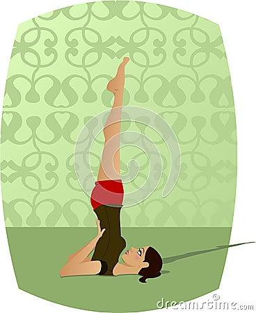 Free Yoga Girl Stock Image - 146171