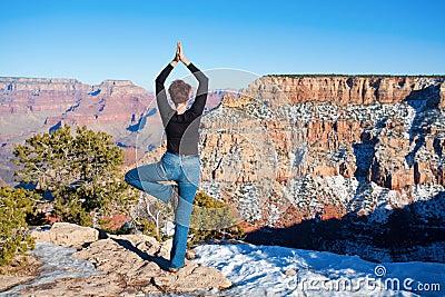 Yoga at Grand Canyon