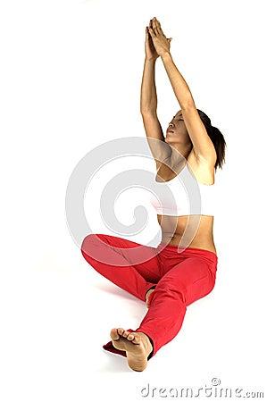 Yoga-Haltung