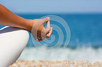 Yoga hand