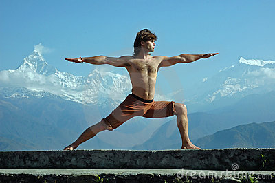 Yoga in Himalays
