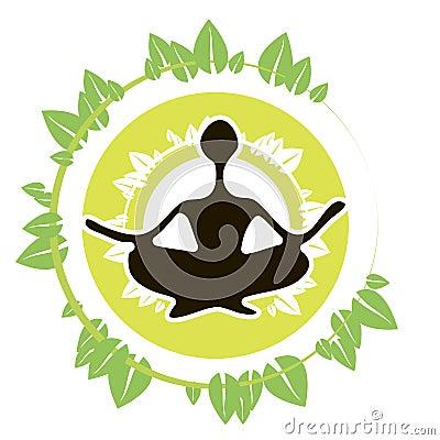 Yoga Icon Leaves
